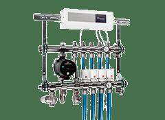 Прокладка труб и запорно-регулирующей арматуры цена